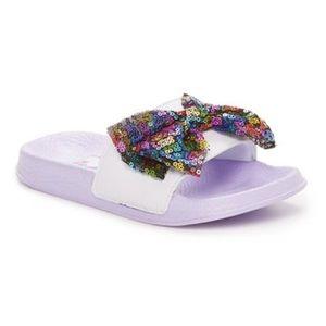 JoJo Siwa Girls Soccer Slide Sandals